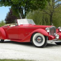 1934 Packards  1107  Roadster