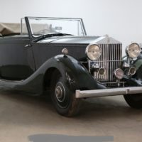 1928 Rolls-Royce 20 hp Drophead Coupe