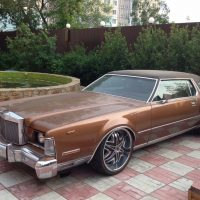 Продажа Lincoln Continental Mark 1972 года
