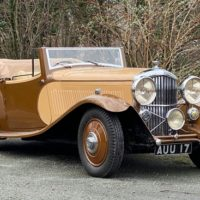 1933 Bentley 3,5 L Parker Sporting